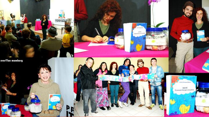 Lançamento Kátia Baroni - Pererê Editora - Vai leve comunicações, foto: Evertton Monberg